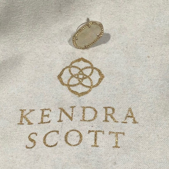 Kendra Scott Jewelry - Authentic KENDRA SCOTT Ellie Gold Iridescent Drusy